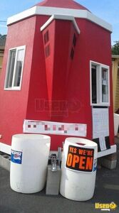 Coffee Concession Trailer Beverage - Coffee Trailer Refrigerator Washington for Sale
