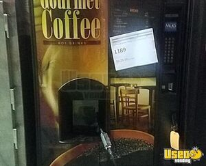 2010 Crane 946D Working Coffee / Hot Beverage Vending Machine for Sale in Indiana!