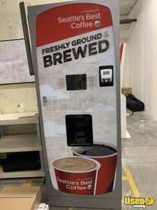 2016 - Crane Voce Media Gourmet Coffee Espresso Vending Machine for Sale in Oregon!