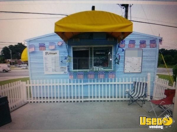 8' x 16' Shaved Ice Concession Trailer with Bathroom for sale in Alabama!!!