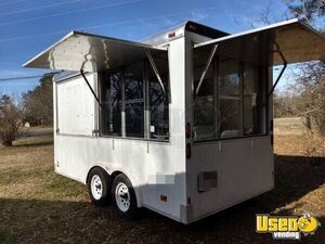 Inspected and Permitted 7' x 16' Mobile Kitchen Food Concession Trailer for Sale in Alabama!