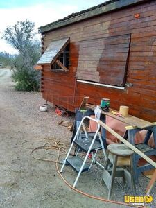 Super Unique 2013 9' x 24' Homemade Wooden Log Food Cabin Concession Trailer for Sale in Arizona!