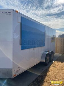 Very Clean Warrior Food Concession Trailer / Used Mobile Street Food Unit for Sale in Arkansas!