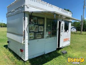 Used 8' x 13' Street Food Concession Trailer with Marquee for Sale in Arkansas!