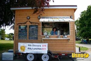 Solar Powered Food Concession Trailer/Used Mobile Kitchen Unit for Sale in British Columbia!