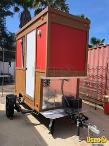 Business Ready 2018 - 4.6' x 10' Food Concession Trailer/Mobile Kitchen Unit for Sale in California!