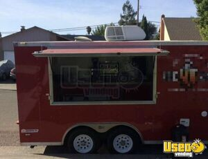 2014 Pace American 14' Basic Empty Street Food / Beverage Concession Trailer for Sale in California!