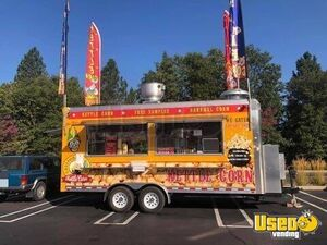 Turnkey Quality Food 2020 8' x 18' Kettle Corn Concession Trailer w/ Cretor Popper for Sale in California!