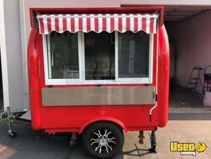 2019 - 5.5' x 8' Basic Small Mobile Vending Food Concession Trailer for Sale in California!!!