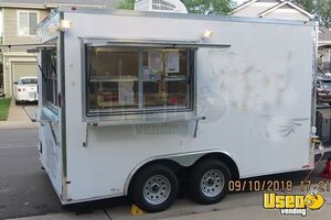 2018 - 8.5' x 14' Food Concession Trailer for Sale in Colorado!!!