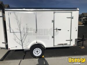 Fresh 2019 6' x 12' Interstate Patriot Never Used Food Concession Trailer for Sale in Colorado!
