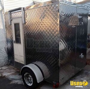Used Mobile Kitchen / All Stainless Steel Food Concession Trailer for Sale in Connecticut!