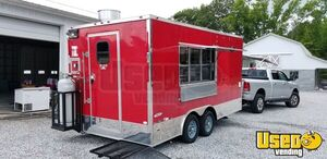 2017 Freedom 8.5' x 16' Mobile Kitchen Food Concession Trailer for Sale in Delaware!!!