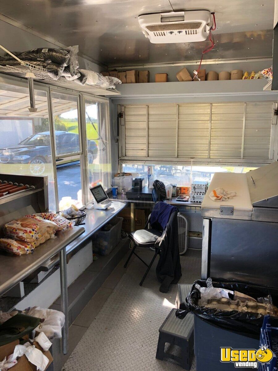Concession Trailer Diamond Plated Aluminum Flooring Florida for Sale - 6