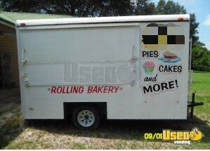 2003 - 14' Haulmark Food Concession Trailer / Used Mobile Kitchen Unit for Sale in Florida!