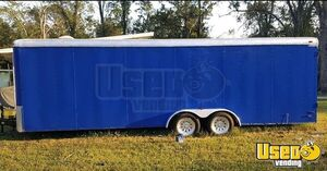 2003 - 24' Used Street Food Concession Trailer / Mobile Food Vending Unit for Sale in Florida!