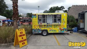 2014 - 7' x 14' Ice Cream Concession Trailer for Sale in Florida!!!