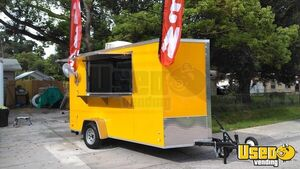 2019 - 6' x 12'  Hot Dog /  Snowcone Concession Trailer for Sale, Florida!