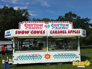 16' - 2005 Show Me Carnival Candy Concession Trailer/Mobile Food Unit for Sale in Florida!