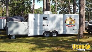 2016 - 8.5' x 20' Diamond Cargo Food Concession Trailer for Sale in Florida!!