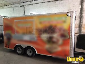 Used 2018 Freedom Trailers 8.5' x 16' Food Concession Trailer for Sale in Florida!