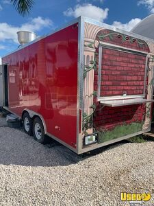 Barely Used Pristine 2017 8.5' x 20' Food Concession Trailer for Sale in Florida!