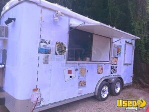 Spacious Street Food Concession Trailer / Used Mobile Kitchen for Sale in Florida!!!