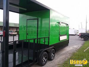 NEW 8' x 20' Food Concession Trailer with Porch / Unused Kitchen Trailer for Sale in Georgia!