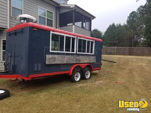Newly Painted and Refurbished 2010 - 7' x 17' Food Concession Trailer for Sale in Georgia!