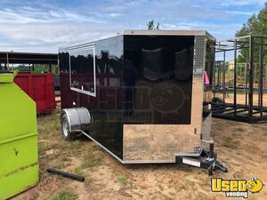 Brand New 2020 - 7' x 12'  Empty Vending Concession Trailer for Sale in Georgia!