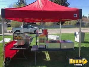 Turnkey Food Concession Business with 7' x 8' Wells Cargo Trailer for Storage for Sale in Idaho!