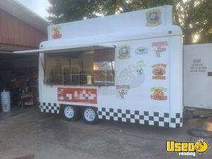 Lightweight Fiberglass 2007 FiberCore Food Concession Trailer/Mobile Food Unit for Sale in Illinois!