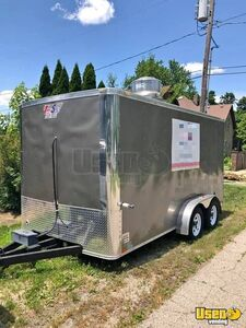 Ready to Work 2015 7' x 14' Team Spirit Food Concession Trailer in Great Shape for Sale in Illinois!