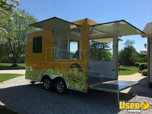 2017 United 8.5' x 14' Street Food Vending Concession Trailer for Sale in Indiana!!!