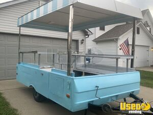 7.5' x 10' Vintage Coleman Pop Up Street Food Concession Trailer for Sale in Indiana!