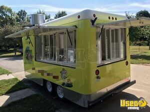 2010 - 7' x 14' Ready to Cook Mobile Kitchen Food Concession Trailer for Sale in Iowa!!!