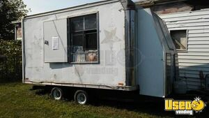 Used 6' x 16' Mobile Kitchen Unit / Ready to Go Food Concession Trailer for Sale in Iowa!