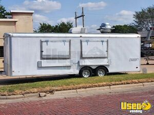 Ready for Service Used Haulmark Food Concession Trailer for Sale in Kansas!!!