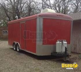 2000 J & L Remodeled 8' x 20' Food Concession Trailer / Mobile Food Unit for Sale in Kansas!