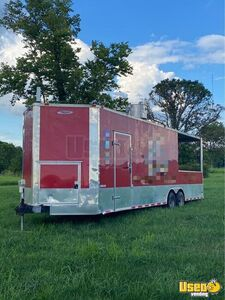 2016 Freedom Kitchen and Catering Food Trailer with Porch for Sale in Kentucky!