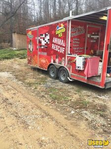 Well-Tended 2018 - 8.5' x 20' Diamond Cargo Food Concession Trailer with Porch for Sale in Kentucky!