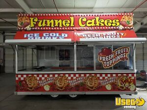 Fully Functional 5' x 18' Century Industries Funnel Cake Concession Trailer for Sale in Kentucky!