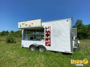 Used Carnival Style Food Concession Trailer / Mobile Food Unit for Sale in Kentucky!