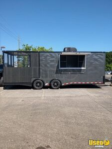 2019 8.5' x 24' Cargo Craft Food Concession Trailer with an 8' Screened Porch for Sale in Louisiana!