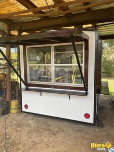 Newly Painted 7' x 7' Basic Street Food Concession Trailer for Sale in Louisiana!!!