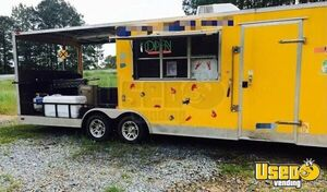 Food Concession Trailer with Porch for Sale in Louisiana!!!