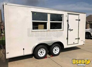 Very Clean and Never Used 8' x 16' Concession Trailer for General Use for Sale in Louisiana!