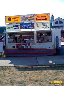 7' x 17' Haulmark Used Food Pizza Concession Trailer for Sale in Maryland!!!