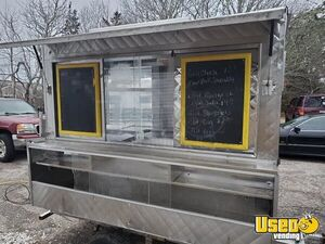 All Aluminum 2007 - 4' x 8' Food Concession Trailer Tiny Kitchen for Sale in Massachusetts!!