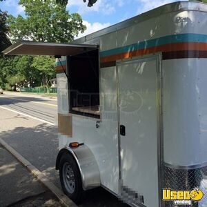 2016 - 5' x 8' Coffee Concession Trailer for Sale in Massachusetts!!!